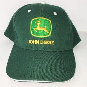 John Deere Green embroidered baseball hat
